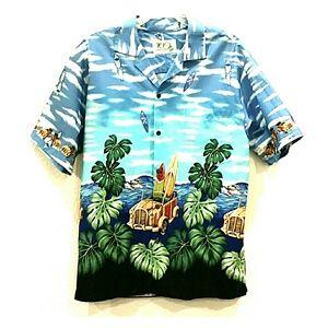 Ky's Made in Hawaii Tropical Hawaiian Aloha Large